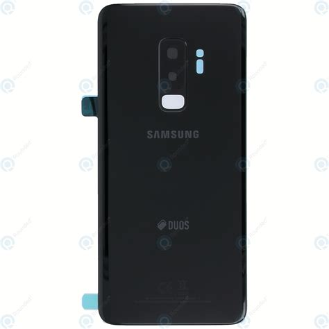 galaxy s9 duos samsung galaxy s9 plus duos sm g965fd battery cover midnight black gh82 15660a