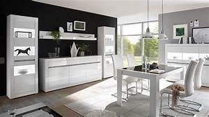 Wohnwand Hochglanz Grau : wohnkombi carat wohnwand anbauwand in wei hochglanz und beton grau ~ Eleganceandgraceweddings.com Haus und Dekorationen