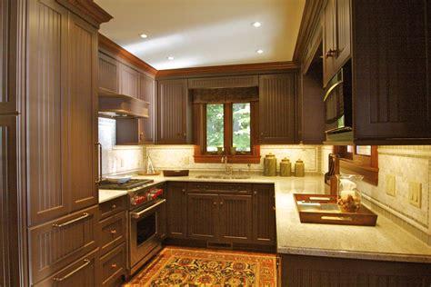 light brown painted cabinets chocolate kitchen belle maison short hills nj