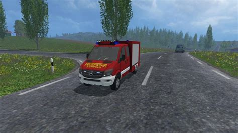 mercedes sprinter  tsf fs   farming simulator