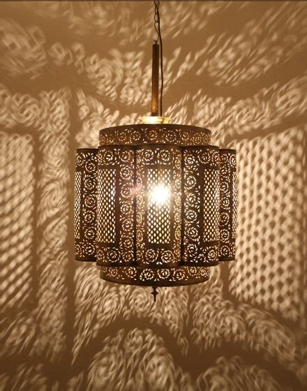 inspirations moroccan punched metal pendant lights