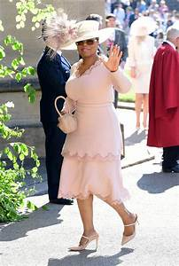 oprah almost broke a big etiquette rule at the royal wedding With oprah winfrey wedding dress