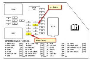 similiar fuses for 2008 cadillac keywords 2007 cadillac escalade fuse box diagram as well 2006 cadillac cts fuse