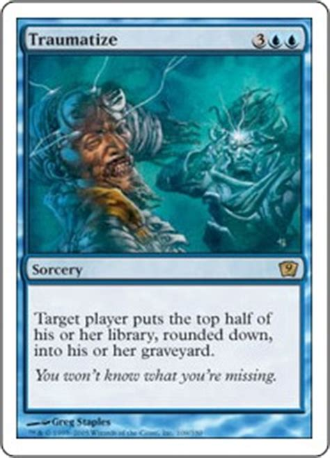 mill deck mtg standard 2014 traumatize magic the gathering wiki fandom powered by
