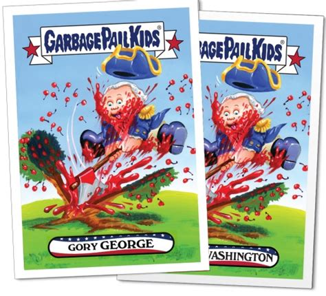 topps garbage pail kids july checklist info