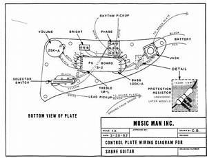 Music Man Sabre I Setup