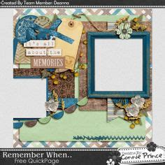 quick pages images digital scrapbooking