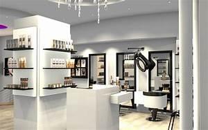 Coiffeuse Noir Et Blanche : salon de coiffure du pont neuf paris 1er ~ Teatrodelosmanantiales.com Idées de Décoration