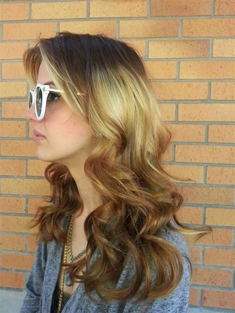 hot  hair color trend splashlight women hairstyles