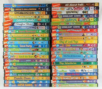lot of 46 used nickelodeon nick jr dvds the explorer backyardigans diego 26 00 picclick