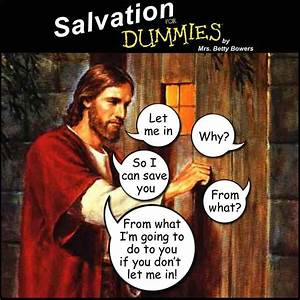 Salvation for dummies « Why Evolution Is True