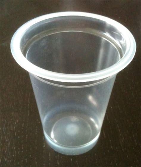recyclage pot de yaourt plastique pot en plastique blanc standard 125g pour yaourt