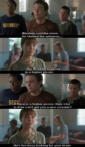 A Walk to Remember, best line of the whole movie! This is ...