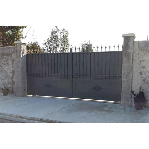 portail fer sur mesure portail en fer coulissant et portail en fer battant