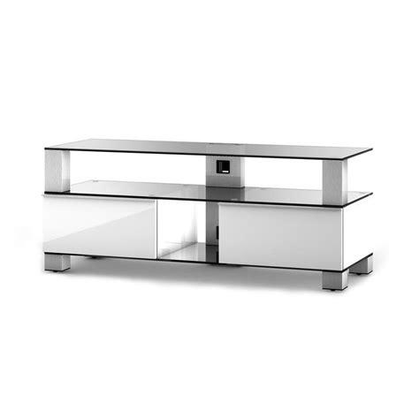 meuble tv sonorous sonorous md9120 blanc meuble tv sonorous sur ldlc