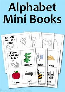 alphabet mini books from abcs to acts With alphabet letter books
