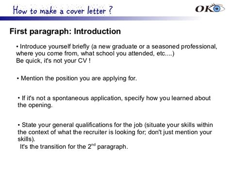 cover letter second paragraph cover letter for
