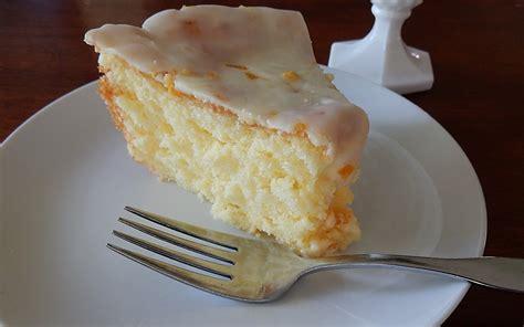 fashioned sunshine cake  orange frosting