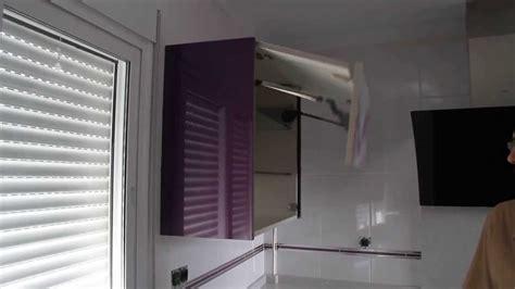mueble cocina puertas elevables automaticas youtube