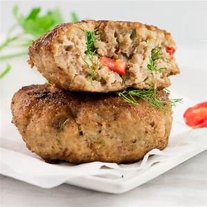 RUSSIAN CUTLETS ( CHICKEN, BEEF AND VEGETABLES) Chefjar