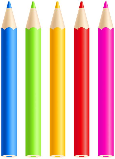 colored pencils png clipart gallery yopriceville high quality