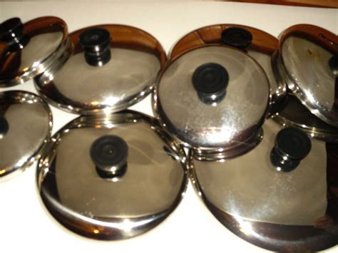 replacement stainless steel lids  revere ware pans          ebay