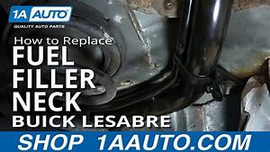 How To Install Replace Rusted Fuel Tank Filler Neck 1992