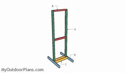 Target Stand Shooting Plans Building Wooden Diy
