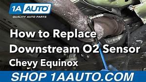 How To Replace Downstream O2 Sensor 08