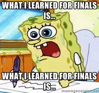 spongebob finals meme   Google SearchNurs Humor, Spongebob, Marching Band, So True, Band Camps