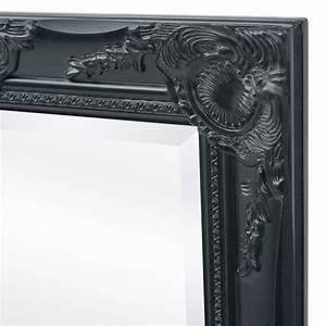Miroir Baroque Noir : acheter vidaxl miroir mural style baroque 100 x 50 cm noir pas cher ~ Teatrodelosmanantiales.com Idées de Décoration