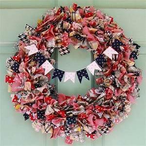 How To Make A Rag Wreath  U2013 Cool Diy Wreath Ideas With