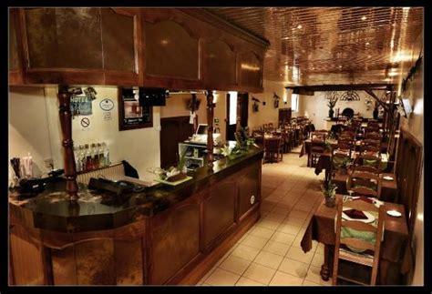 vue de la salle depuis l accueil bar picture of hotel restaurant les arcades bruyeres
