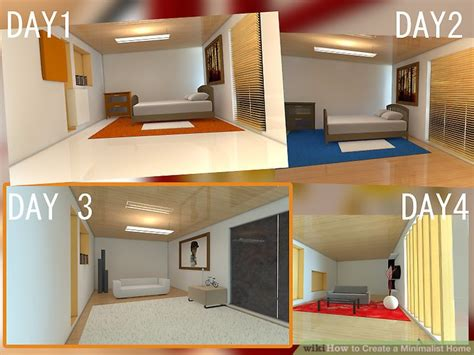 create a house how to create a minimalist home with pictures wikihow