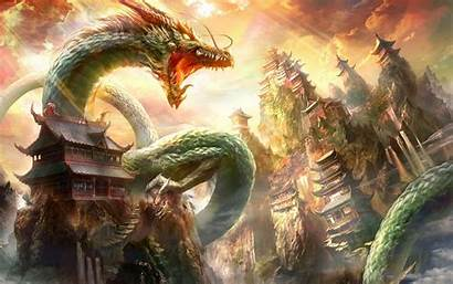 Dragon Japanese Wallpapers Aesthetic Cave