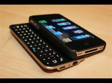 best iphone keyboard best iphone 4 4s physical keyboard unboxing boxwave