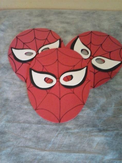 Máscara EVA Homem Aranha CRIS CAMPOS ARTE EM EVA Elo7