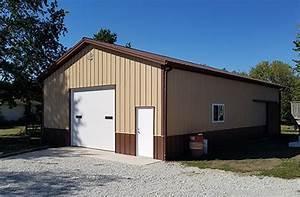 pole barn pictures photos ideas floor plans lester With 40x48 pole barn