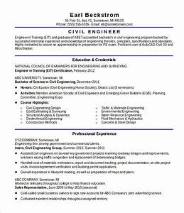 20 civil engineer resume templates pdf doc free With civil engineer resume