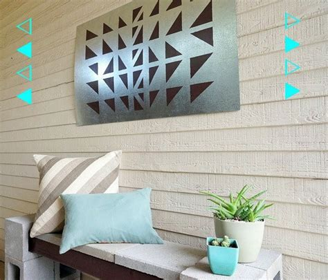 outdoor wall decoration    diy projects