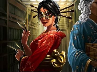 L5r Scorpion Clan Courtier Deviantart Shosuro Alayna