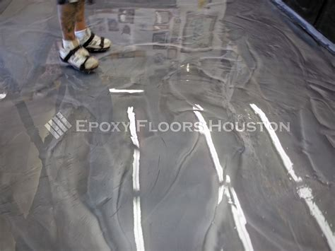 metallic epoxy commercial flooring in houston
