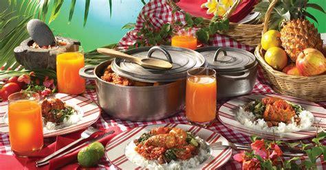 ote cuisine le vrai pique nique créole villa oté chambres d 39 hôtes