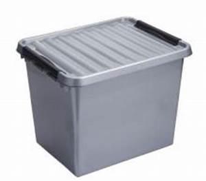 Boite Plastique Petite Taille : boite plastique haute 52l pour rangement ~ Edinachiropracticcenter.com Idées de Décoration