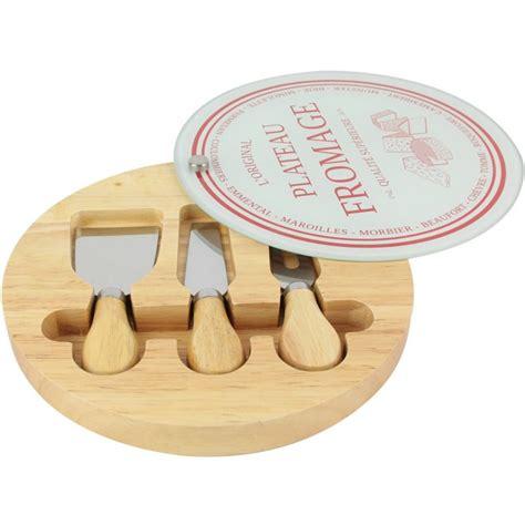 trousse de couteaux de cuisine planche plateau à fromage couteaux fourchette aimantés aoc