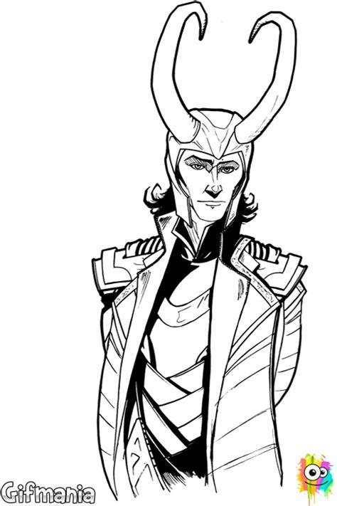 Kleurplaat Thor by Coloring Page Of Loki Laufeyson Loki Laufeyson Is As Its