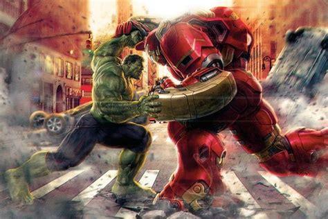 hulk  iron man fights ballerstatuscom