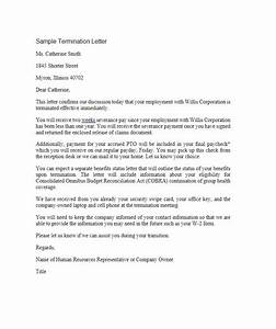 35 perfect termination letter samples lease employee With termination of employment contract template
