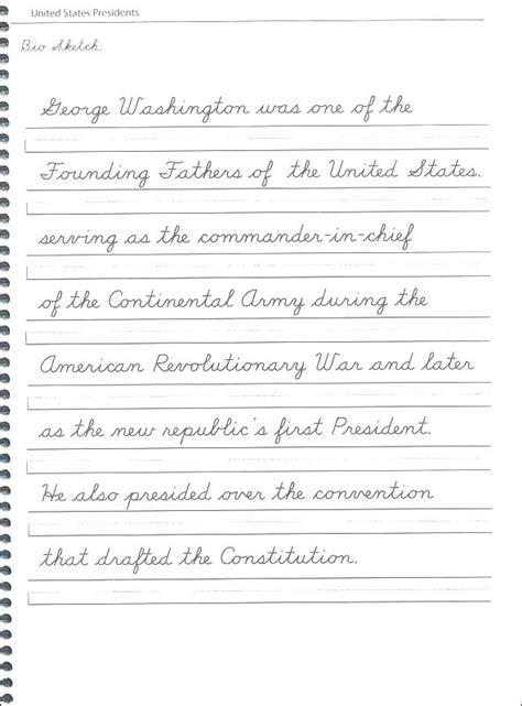 handwriting worksheet months   year