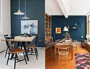 1000 idees sur le theme papier peint bleu sur pinterest With couleur tendance peinture salon 13 inspirations deco en vert fonce joli place